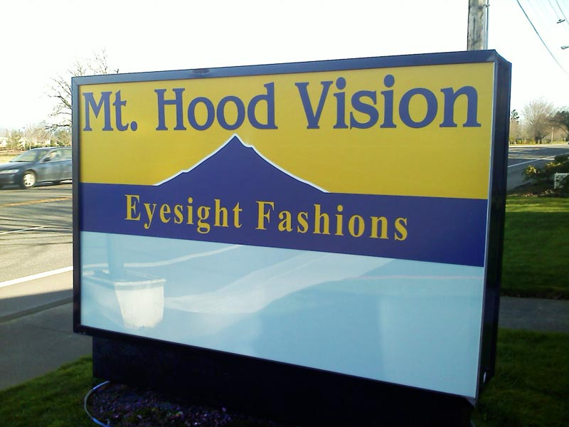 Lightboxes, Mt. Hood Vision