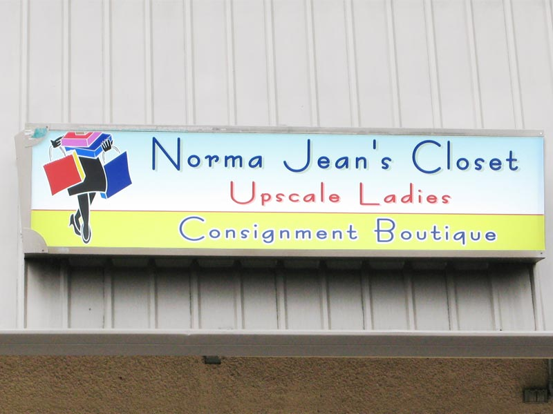 Lightboxes, Norma Jeans Closet