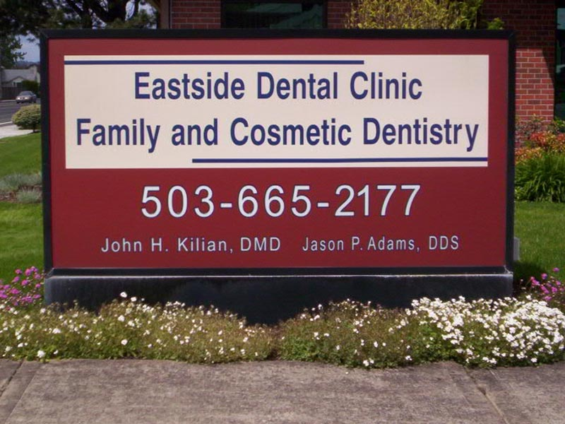 Lightboxes Eastside Dental